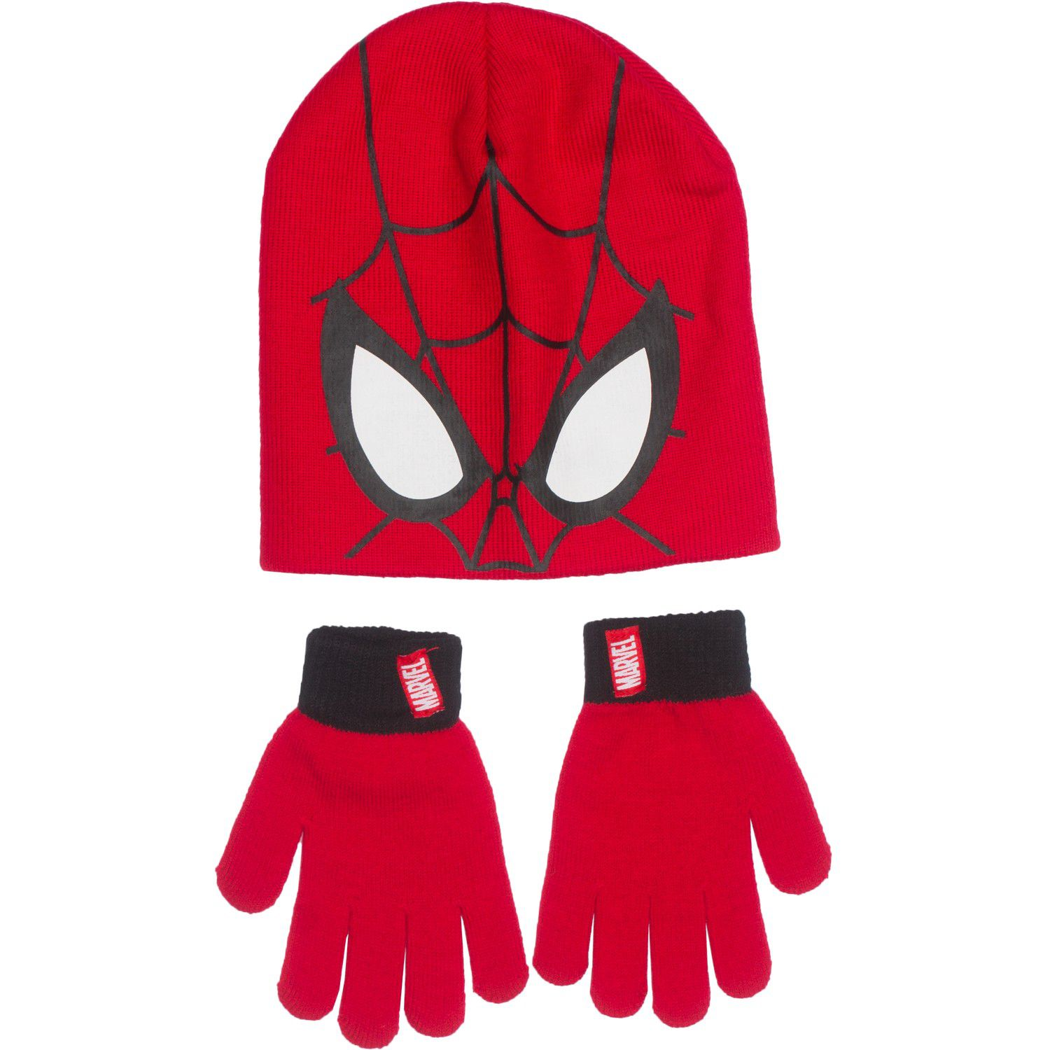 BOYS SPIDER-MAN CHARACTER WINTER HAT,GLOVE /& SCARF SET GOOD QUALITY